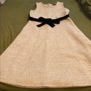 J crew dress velvet bow size 4
